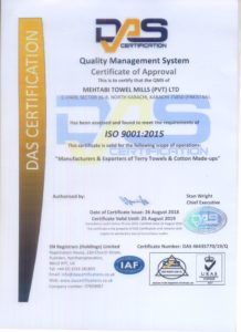 ISO CERTIFICATE 20190001