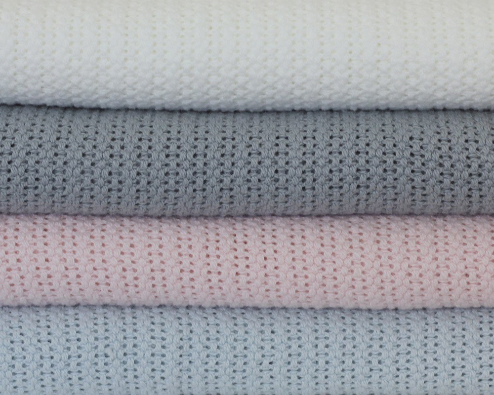 Cotton Cellular Thermal Blanket high